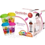 Kinohimitsu J'pan Collagen Diamond 5300 Drink 50ml x 32's + 1 Coffee Mug