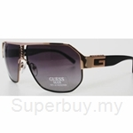 Guess Gold Black-Grey gradient Sunglasses - GU-6653