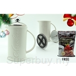 Fresco Cocoa Chocolate Frothy Maker FREE 53% Cocoa Pure Dark Couverture (150g)