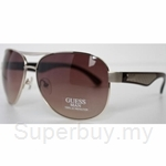 Guess Gold-Brown gradient Sunglasses - GU-6686
