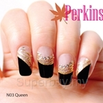 PERKINS Nail Wrap Queen - N03