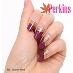 PERKINS Nail Wrap Queen Wine - N17