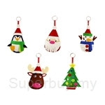 Art & Craft Christmas Felt Plushie Kit 5 in Pack - FELT-04