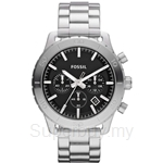 Fossil Men's Keaton Stainless Steel Bracelet Chronograph Watch - CH2814