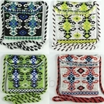 Moochiku Borneo Beaded Mini Sling Bag ~ 10 Colors Available