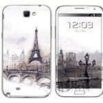 Stico Samsung Note 2 Skin Paris Painting - N2001