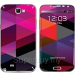 Stico Samsung Note 2 Skin Geometry - N2009