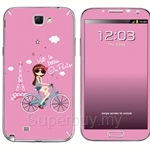 Stico Samsung Note 2 Skin Hello Paris - N2010