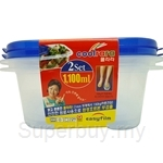Coolrara Multi Container Rectangle 1.1L 2-1 - C0-006
