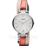 Fossil Women's Georgia Leather Strap Watch - ES3222