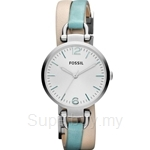 Fossil Women's Georgia Leather Strap Watch - ES3224