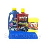 Vimake Car Paint Care Wax 4 Pieces Set