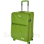 Hush Puppies 4-Wheel Soft Trolley Case with TSA Lock- HP02-693083