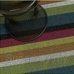 Chilewich Shag Bold Stripe Door Mat 46 x 71cm (Multi)