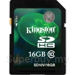 Kingston SDHC Class 10 Value Card