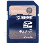 Kingston SDHC Class 4 - 4GB
