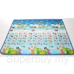 Korean Eco Play Mat Alphabet Friend PE Roll - MAT-15020012TPER-A