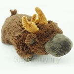 My Pillo Pet 11 inch Mini Sleepy Pet - Moose