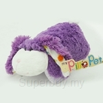 My Pillo Pet 11 inch Mini Sleepy Pet - Purple Bunny