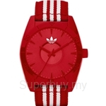 Adidas Men's Santiago Red Fabric Strap Watch - ADH2661