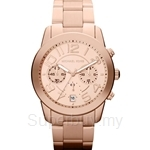 Michael Kors MK5727 Women's Rose Gold Plated Chronograph Watch