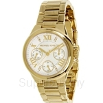 Michael Kors MK5759 Women's Yellow Gold Plated Multifunction Watch