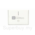 i-Glitters Portable Power Bank 12000 mAh White