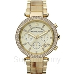 Michael Kors MK5632 Women's Horn Glitz Chronograph Watch