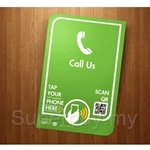 Tapway 'Call Us' Touch Point Sign - TPWY-TP-04