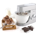 Kenwood Chef Size Frozen Dessert and Ice Cream Maker - AT956A
