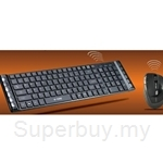 E-View Wireless Keyboard Combo - V20
