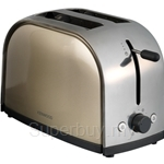 Kenwood Latte Steel 2 Slice Toaster - TTM104