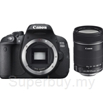 Canon EOS 700D Kit EFS18-135mm 8GB SD + DSLR Bag (Canon Warranty)