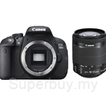 Canon EOS 700D Kit EFS18-55mm 8GB SD + DSLR Bag (Canon Warranty)