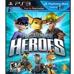 Play Station Move Heroes R3 PS3 Game