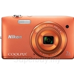 Nikon Coolpix S3500 Compact Digital Camera (Nikon Warranty)