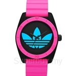 Adidas Women's Santiago Analog Sports Pink Resin Strap Watch - ADH2842