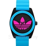 Adidas Women's Santiago Analog Sports Blue Resin Strap Watch - ADH2843