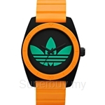 Adidas Women's Santiago Analog Sports Orange Resin Strap Watch - ADH2844