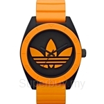 Adidas Men's Santiago XL Analog Sports Orange Resin Strap Watch - ADH2845