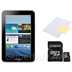 Samsung Galaxy Tab 2 (7.0) P3100 + Kingston Micro SDHC 8GB Class 10 + Screen Protector  [Ready Stock]