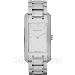 Burberry BU9400 Women's Rectangular Stainless Steel Watch