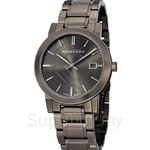 Burberry BU9007 Men's Gunmetal Plated Stainless Steel Bracelet Watch