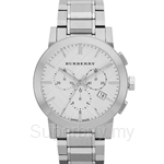 Burberry BU9350 Men's The City Stainless Steel Chronograph Watch