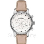 Burberry BU7816 Women's Utilitarian Chronograph Leather Strap Watch