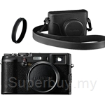 Fujifilm X100 Black Limited Edition Digital Camera (Fujifilm Warranty)