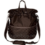 Allerhand Flexi Shopper Large UNITY PRINT EDITION Collection Pure-Brown - AH-PE-FSB-07L-UNITY-09
