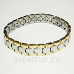 TTW 8061(G) CRISS MAGNETIC BRACELET (Titanium For Ladies)
