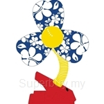 Simple Dimple Blue Clip On Fan - FF04