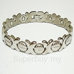 TTW 8214 CRISS MAGNETIC BRACELET (TITANIUM FOR LADIES)